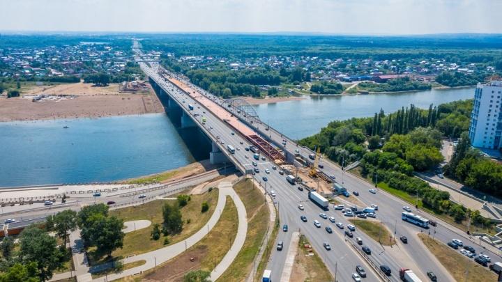 Мэрия Уфы назвала срок завершения ремонта на Бельском мосту