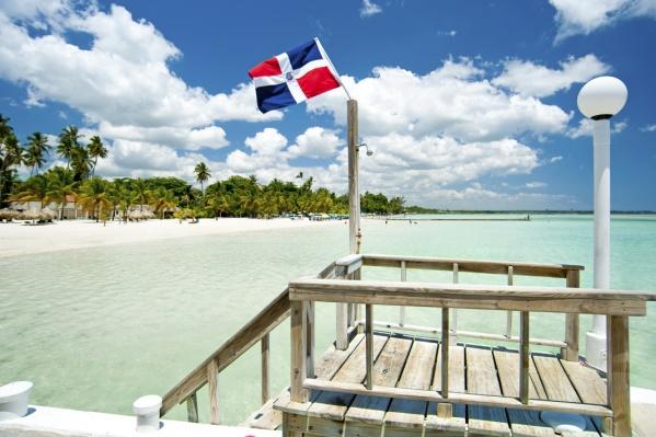 Средняя температура воздуха в октябре в Доминикане +29 градусов по Цельсию