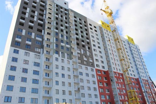 """Первый 18-этажный дом в микрорайоне — <nobr class=""""_"""">№ 71</nobr>. Срок сдачи III квартал 2022 года"""