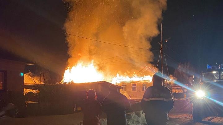 В Пермском крае сгорел частный дом: есть погибшие