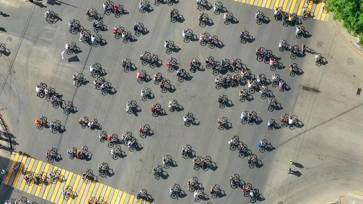 В уфимском велозабеге приняли участие более 22 тысяч человек
