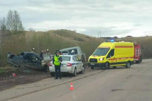 Два человека погибли в утренней аварии на правобережье Красноярска