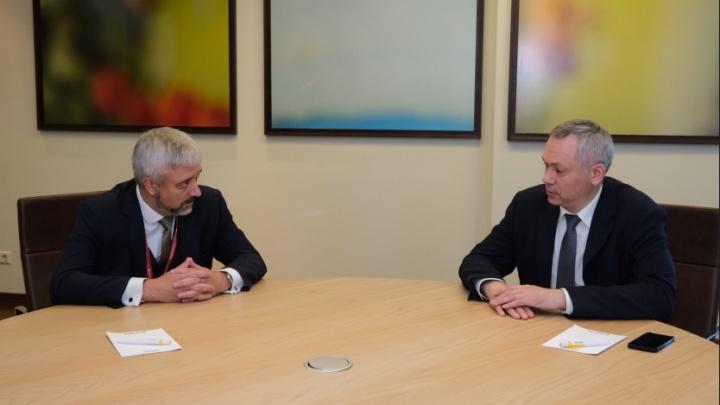 Андрей Травников подписал соглашение с Россотрудничеством