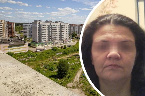 Женщина с детьми живет в Заволжском районе Ярославля