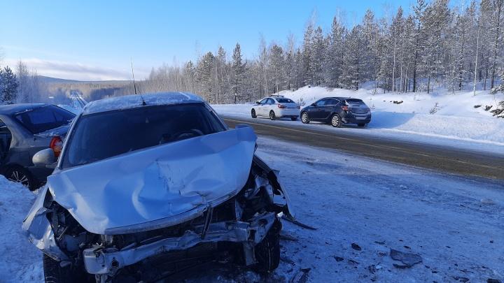 На Урале погиб водитель, забывший включить поворотник