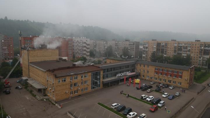 «Работаем в штатном режиме»: в здании телеканала «Афонтово» ликвидировали возгорание