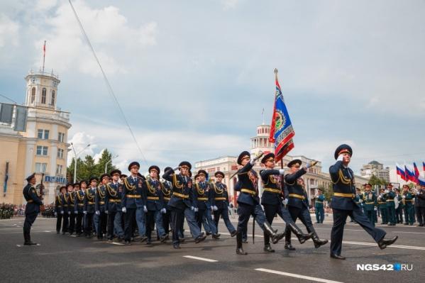 Торжественные шествия 9 мая пройдут в Кемерово, Новокузнецке и Юрге