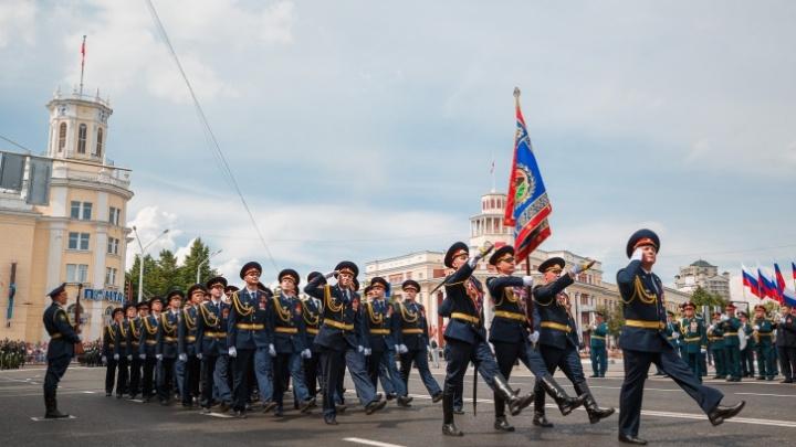 В Новокузнецке пройдут репетиции Парада Победы. Рассказываем, какие улицы перекроют