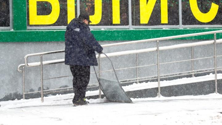 В Самарской области за неубранный снег предложили наказывать владельцев зданий