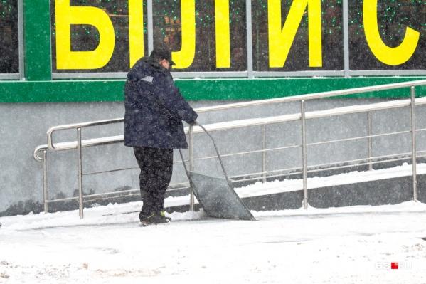 Уборка от снега прилегающей территории станет прямой обязанностью владельца здания