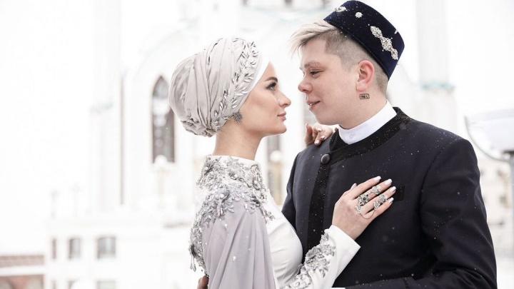 В Казани у звезды башкирской эстрады Элвина Грея состоялся никах