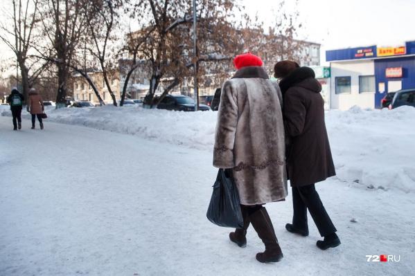 У пожилых людей за год немного выросла средняя пенсия