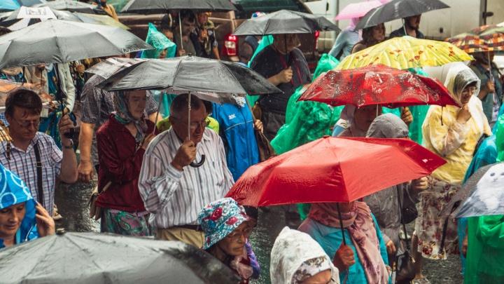 Жару в Самарской области сменят сильные дожди