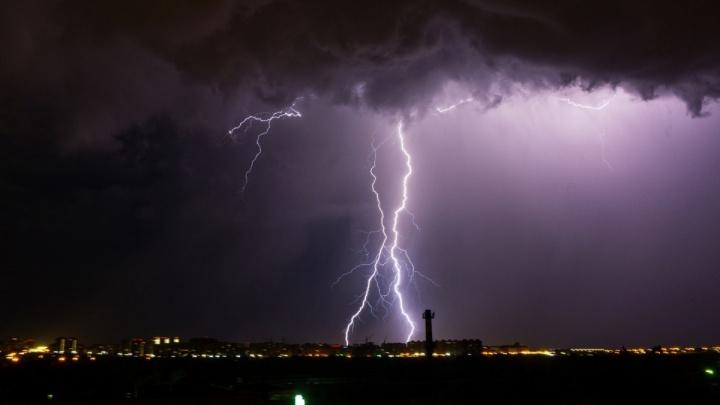 В Омской области жара сменится крупным градом и штормовым ветром, но ненадолго