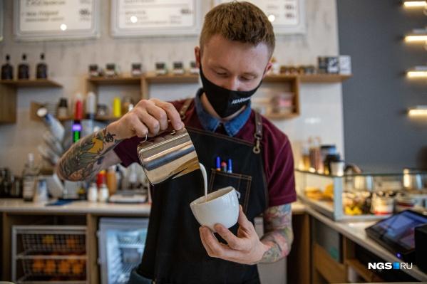 В Новосибирске 7 кофеен «Академии Кофе»
