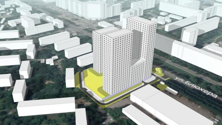 Вместо проектного института во Втузгородке планируют построить 31-этажную высотку. Показываем рендеры