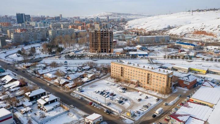 Новое здание у гостиницы «Колос» на Каче должно появиться через год