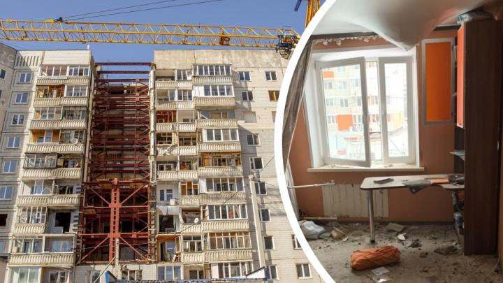 «Интересно рыться мародерам»: в Ярославле из-под завалов взорванного дома растаскивают вещи бывших жильцов
