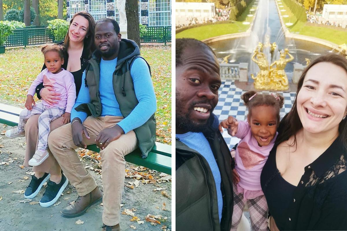 """Отец Аделины родом из Конго, живет в России уже <nobr class=""""_"""">17 лет</nobr>"""