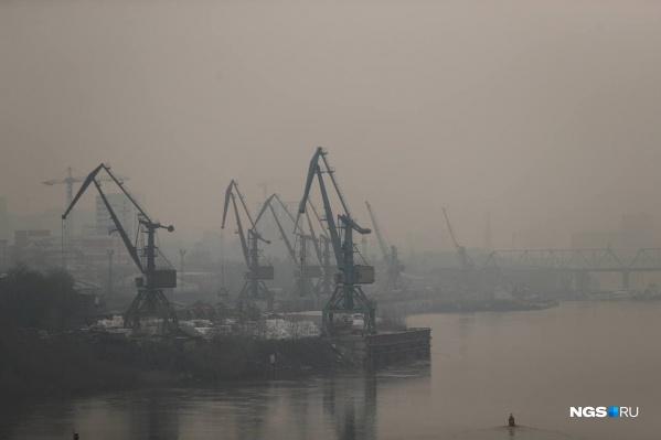 В самом Новосибирске крупных пожаров нет