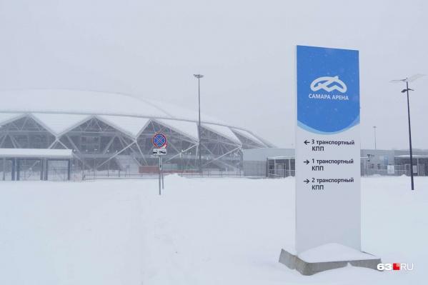 Самарский стадион сдали в эксплуатацию самым последним из тех, которые в России строили для чемпионата мира по футболу