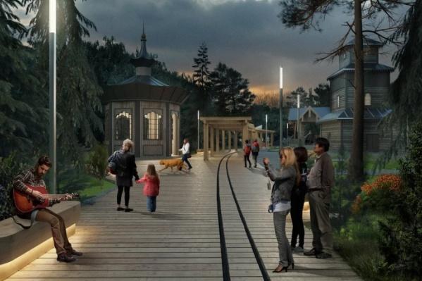 Парк в его нынешнем месте действует больше 100 лет — архитекторы постарались сохранить исторические черты