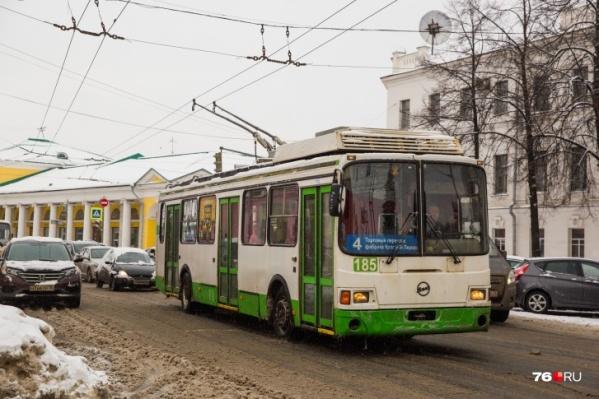 Изначально говорили о покупке 10 новых троллейбусов