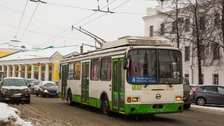 Власти Ярославля собираются купить 20 новых троллейбусов. Правда, пока денег нет и на десять