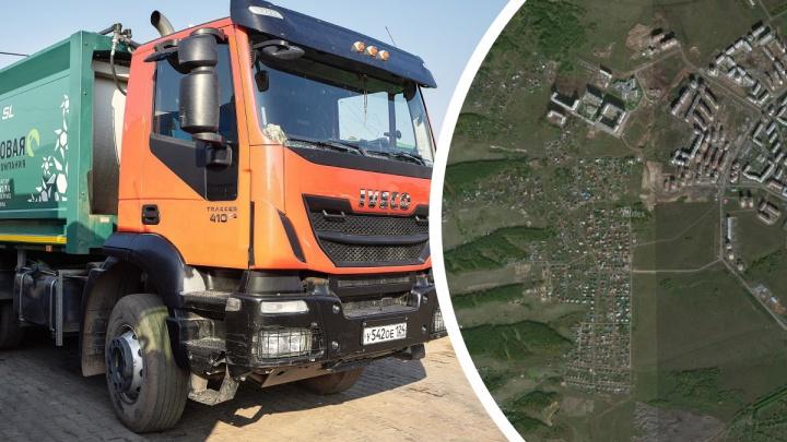 Генералов запретил мусоровозам въезжать в Нанжуль-Солнечный под угрозой блокировки машин
