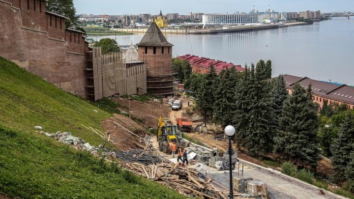 Нижегородский кремль откроют для посещения 22 августа. Доступна запись на круговой маршрут по стене