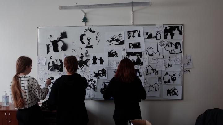В Перми появятся новые мини-скульптуры. «Компьютерных монстров», «Птенца» и «Филина» придумали дети
