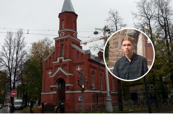 НикитаЛахтинен — прихожанин лютеранской церкви Святой Марии
