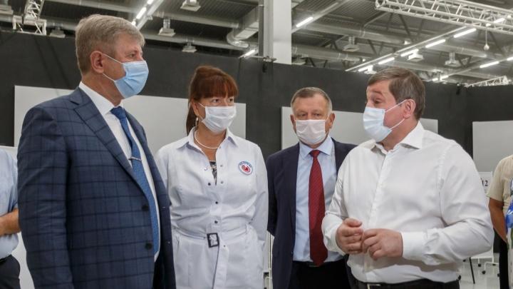 Вместо гардероба целый зал: в Волгограде открыли самый большой пункт вакцинации региона