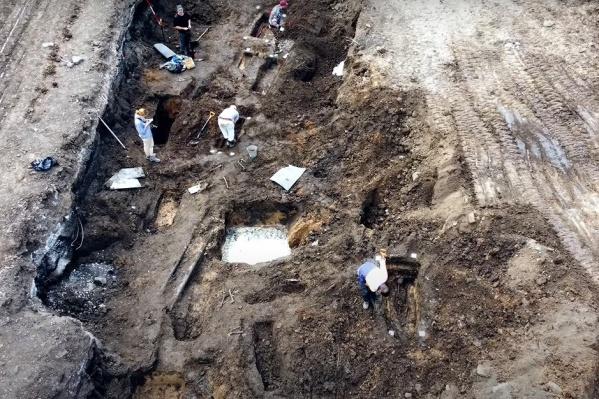Археологам предстоит тщательно изучить раскопы