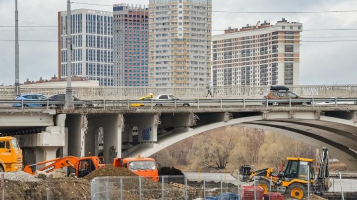 Макаровский мост строят с опережением сроков: мэр рассказал, когда откроют полноценное движение