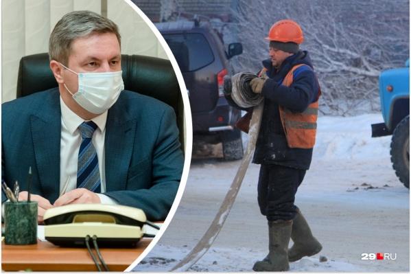 Дмитрий Морев также рассказал, что от горожан поступают жалобы: жители не могут дозвониться диспетчерам ресурсоснабжающих организаций