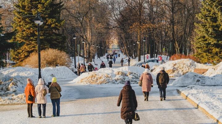 «О метеорологической весне говорить рано»: в ГИС-центре рассказали, когда в Пермском крае потеплеет