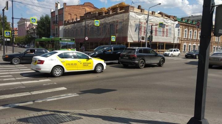 Центр Красноярска остался без света из-за аварии