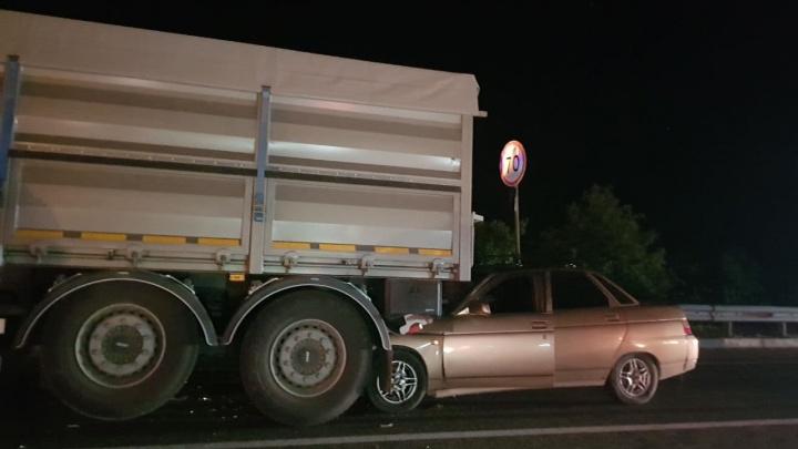 Полиция рассказала, кто стал виновником крупного ДТП на трассе М-4 в Краснодаре
