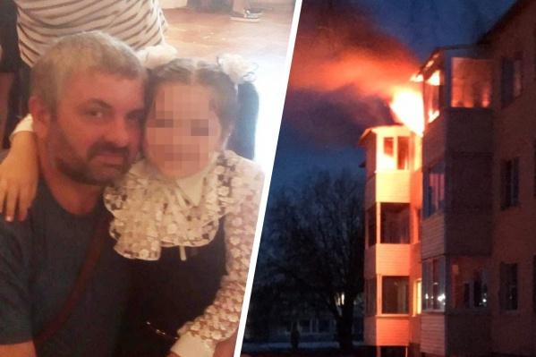 Михаил пытался выбраться из горящей квартиры, но надышался угарным газом