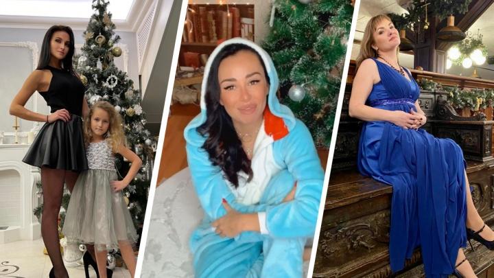 «Мы в ожидании 11-го малыша»: популярные сибирячки рассказали, как отметили Новый год, и показали фото