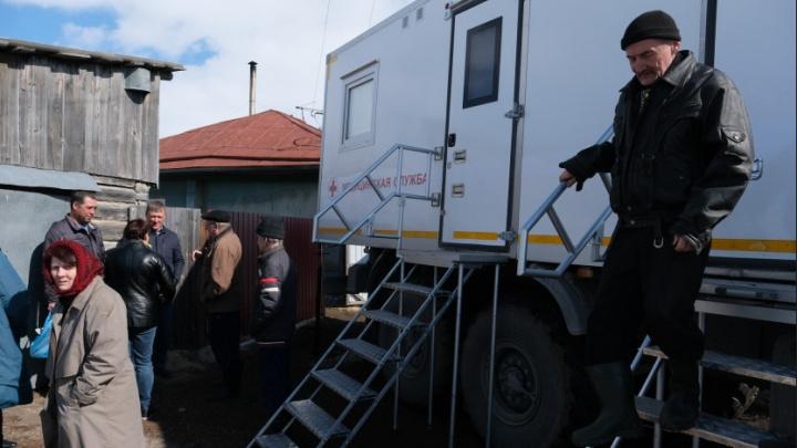 В селах Новосибирской области начали работать передвижные медицинские комплексы