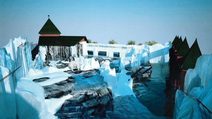 Для белых медведей в зоопарке Екатеринбурга построят целый ледовый город. Показываем, каким он будет