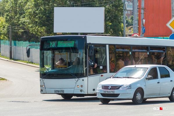 Большие автобусы будут работать лишь на магистральных маршрутах