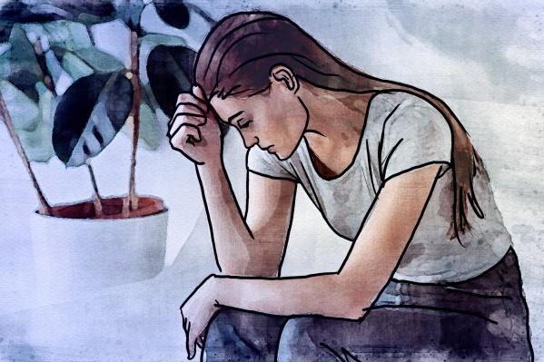 Депрессия может возникнуть у человека любого возраста