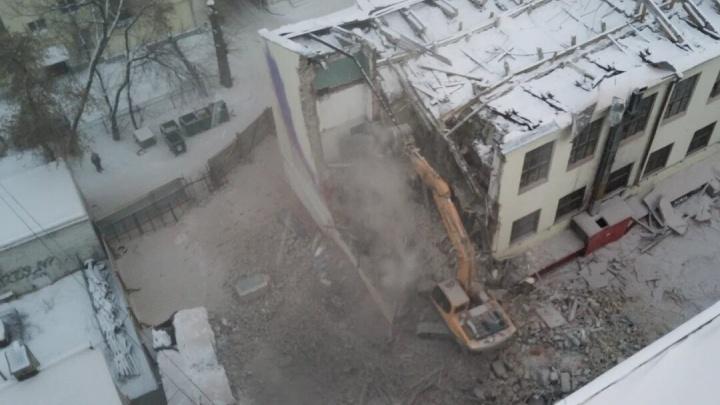 Здание ПРОМЭКТа отказались признавать объектом культурного наследия