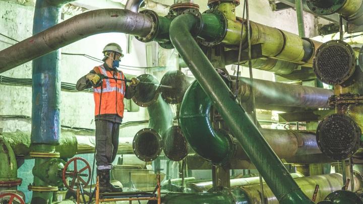 Для опрессовки горячую воду отключат в семи сотнях домов по всей Перми