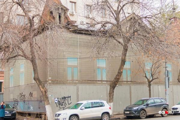 Памятник архитектуры планируют перенести с улицы Самарской