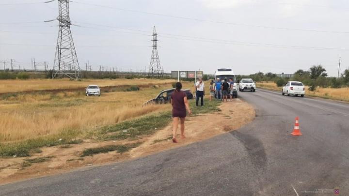 В Волгоградской области пьяный гость из Краснодара устроил аварию с пострадавшими