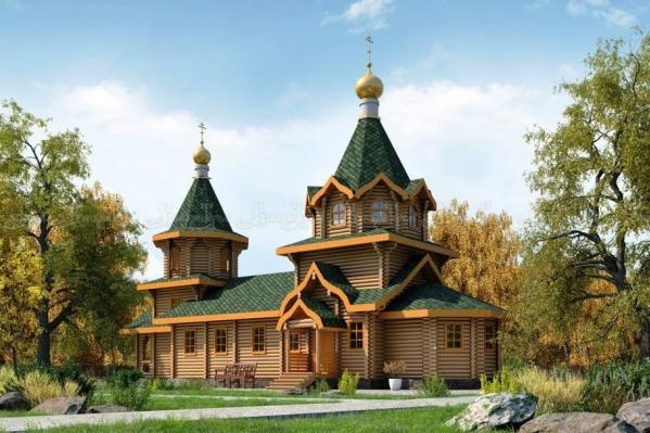 Так будет выглядеть здание храма